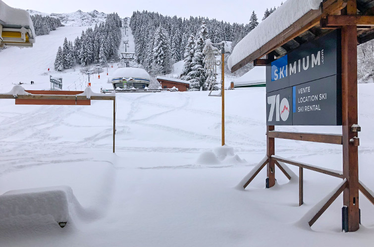 Boutique 7 Laux Front de neige